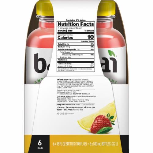 Bai Strawberry Lemonade Antioxidant Infused Beverage Perspective: right
