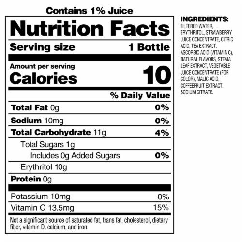Bai Kupang Strawberry Kiwi Antioxidant Infused Beverage Perspective: right