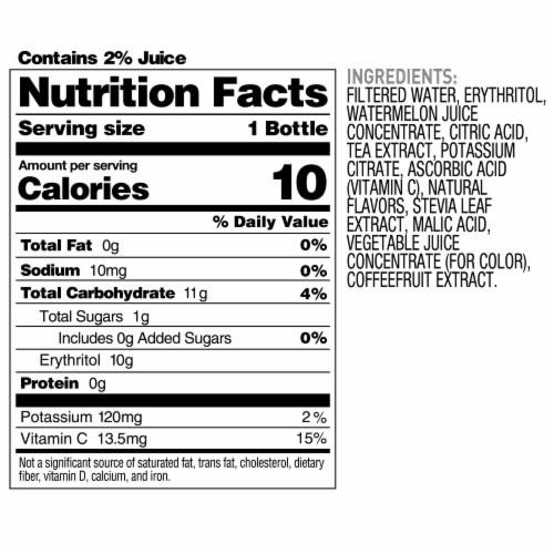 Bai Boost Watamu Strawberry Watermelon Antioxidant Infused Beverage Perspective: right