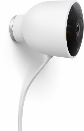 Nest Cam Outdoor Security Camera - White Perspective: right