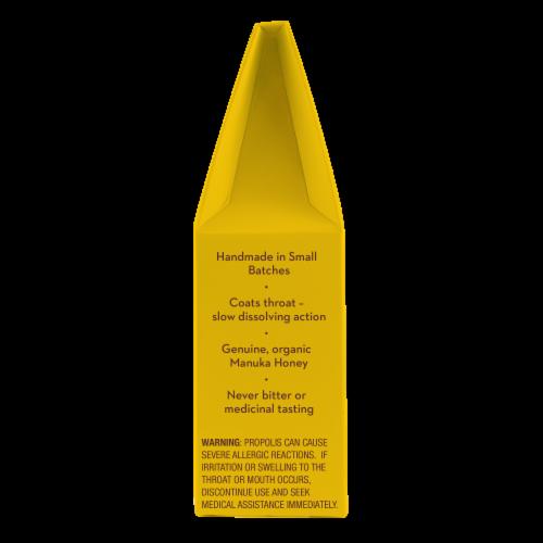 Wedderspoon Organic Lemon Manuka Honey Drops Perspective: right