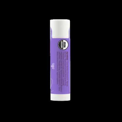 Wedderspoon Organic Lipcare Lavender Lemon with Manuka Honey Lip Balm Perspective: right