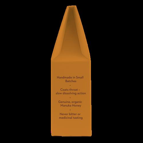 Wedderspoon Organic Manuka Honey Drops Perspective: right
