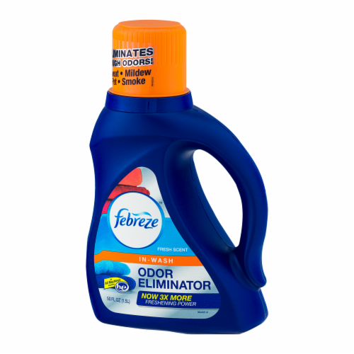 Febreze In-Wash Odor Eliminator Fresh Scent Detergent Perspective: right