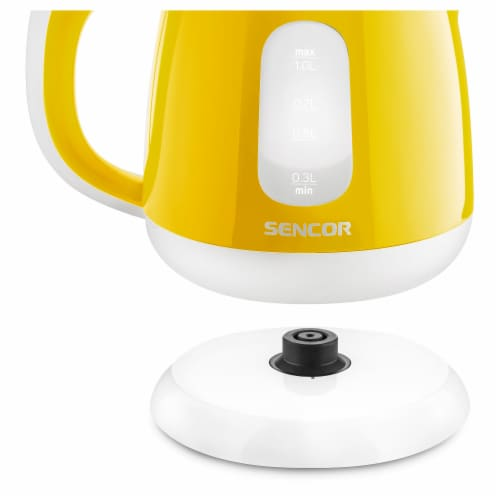 Sencor Small Electric Kettle - Yellow Perspective: right