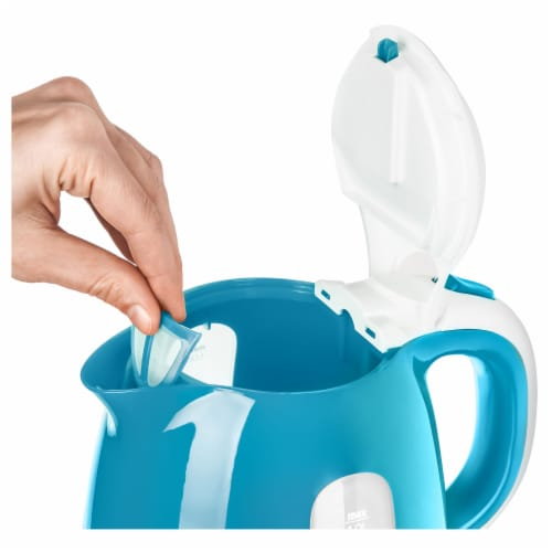 Sencor Small Electric Kettle - Turquoise Perspective: right