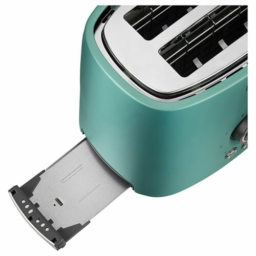 Sencor 2-Slot Toaster with Digital Button and Rack - Green Perspective: right