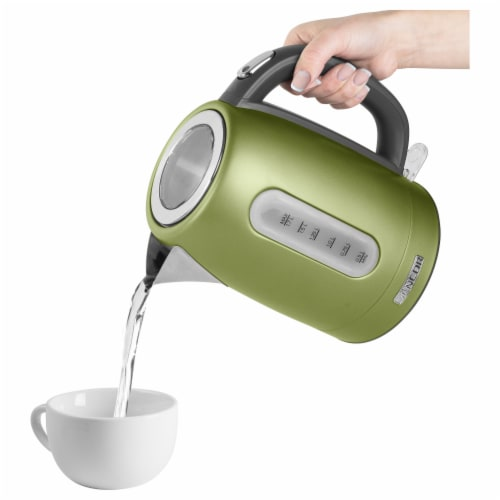 Sencor Stainless Electric Kettle - Light Green Perspective: right