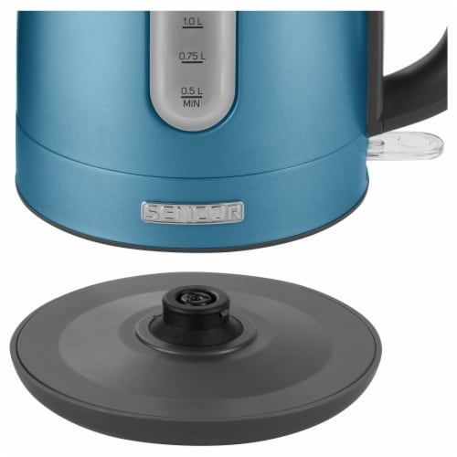 Sencor Stainless Electric Kettle - Blue Perspective: right