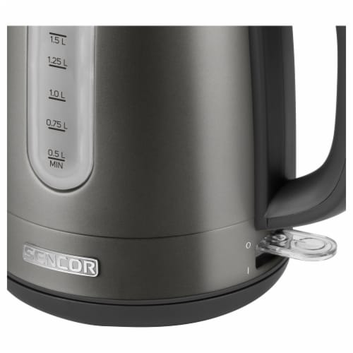 Sencor Stainless Electric Kettle - Black Perspective: right
