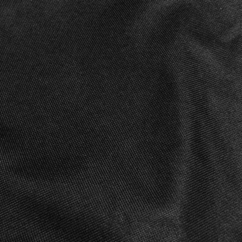 Sunnydaze Log Rack Cover Black Outdoor Waterproof Weather-Resistant PVC - 6' Perspective: right