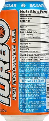 NOS Turbo High Performance Fuel Energy Drink Perspective: right