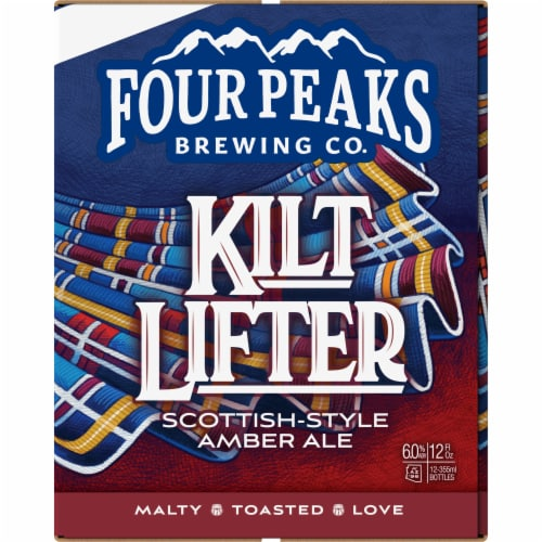 Four Peaks Kilt Lifter Scottish-Style Ale Perspective: right