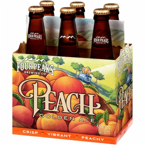 Four Peaks Brewing Peach Golden Ale Perspective: right