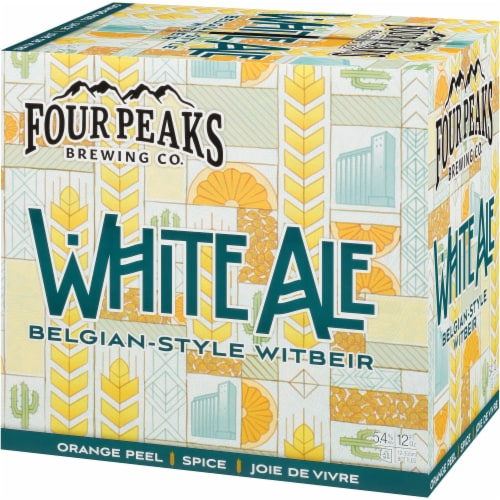 Four Peaks Brewing White Ale Belgian-Style Witbeir Perspective: right
