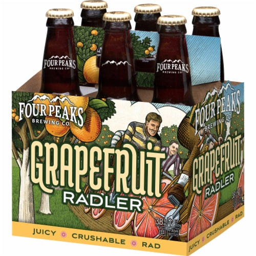 Four Peaks Brewing Grapefruit Radler Perspective: right