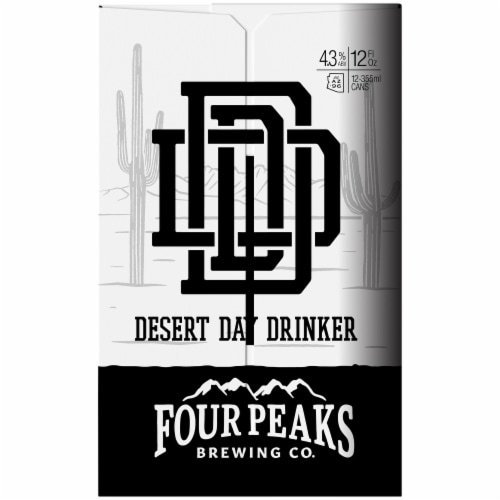 Four Peaks Brewing Desert Day Drinker Beer Perspective: right