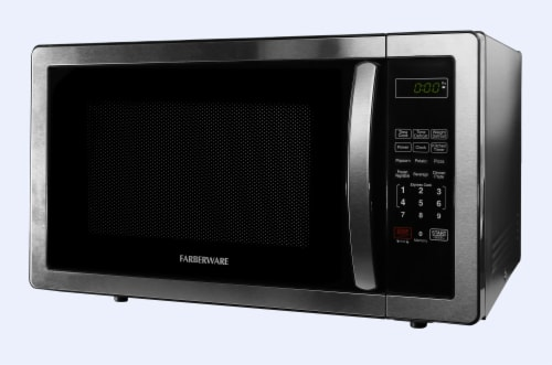 Farberware Classic 1000-Watt High Performance Microwave Oven - Stainless Steel Perspective: right