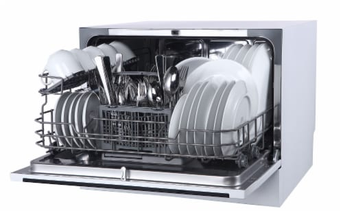 Farberware Professional Countertop Dishwasher - White Perspective: right
