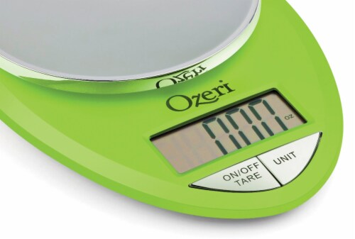 Ozeri Pro Digital Kitchen Food Scale, 0.05 oz to 12 lbs (1 gram to 5.4 kg) Perspective: right