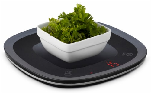 Ozeri Touch Waterproof Digital Kitchen Scale, Washable and Submersible Perspective: right