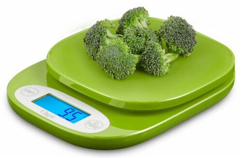 Ozeri ZK24 Garden and Kitchen Scale, with 0.5 g (0.01 oz) Precision Weighing Technology Perspective: right