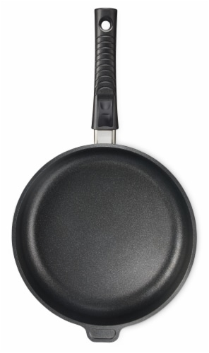 """Ozeri Professional Series 10"""" Hand Cast Ceramic Earth Fry Pan, Removable Handle, Made in DE Perspective: right"""