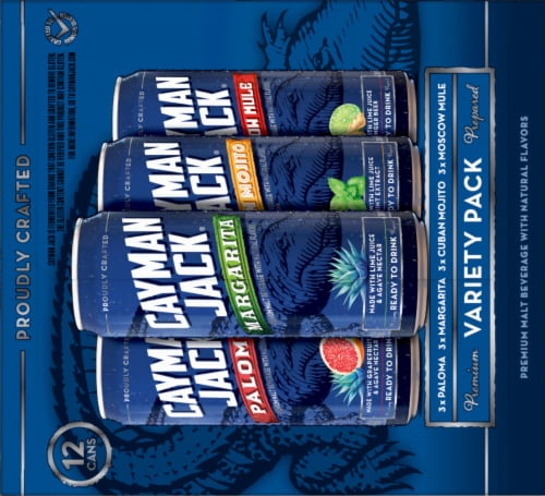 Cayman Jack Cocktails Variety Pack Perspective: right