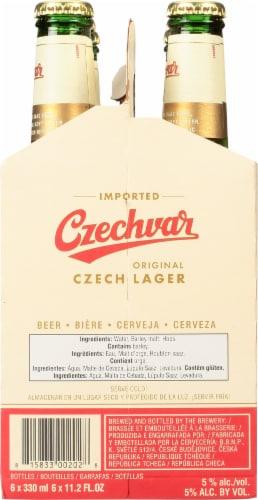Czechvar Lager Perspective: right