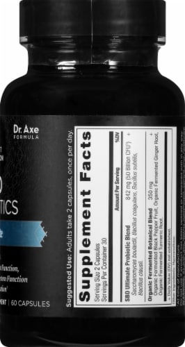Ancient Nutrition SBO Probiotics Ultimate Capsules Perspective: right