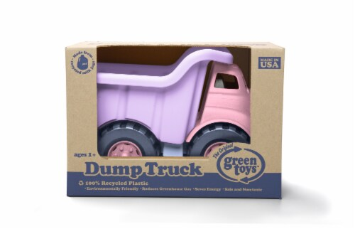 Green Toys Toy Dump Truck - Pink Perspective: right