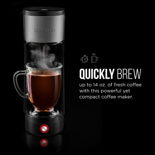 Chefman InstaCoffee Single Serve Brewer Perspective: right