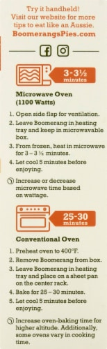 Boomerang's™ Chicken Classic Pot Pie Frozen Meal Perspective: right