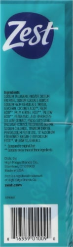 Zest Aqua Deodorant Bar Soap Perspective: right
