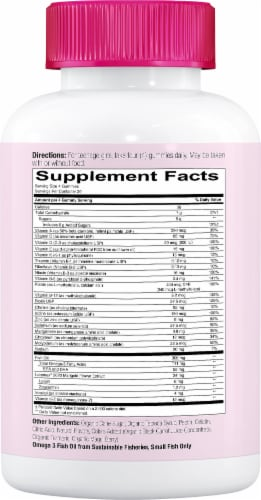 SmartyPants Teen Girl Complete Multivitamin Gummies - 120 Count Perspective: right