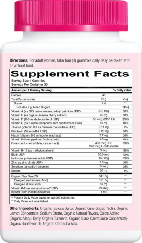 SmartyPants Organics Women's Complete Multivitamin Gummies Perspective: right
