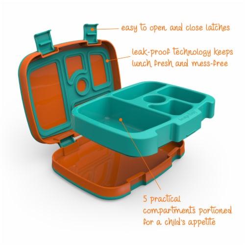 Bentgo Kids Durable & Leak Proof Children's Lunch Box - Orange Perspective: right