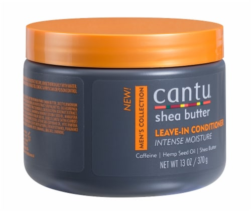 Cantu® Men's Collection Shea Butter Leave-In Conditioner Perspective: right
