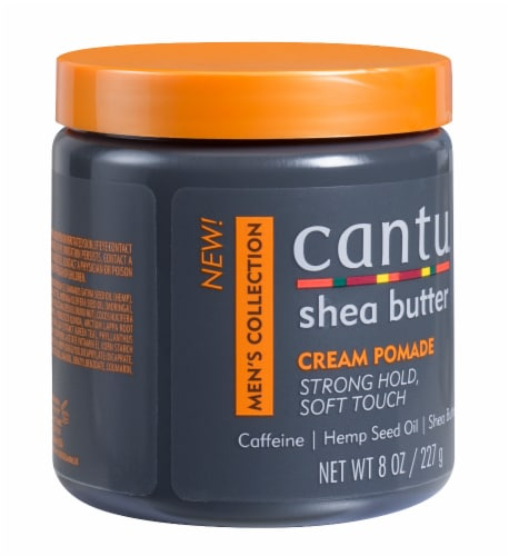 Cantu Men's Shea Butter Styling Cream Pomade Perspective: right