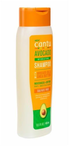 Cantu Avocado Hydrating Sulfate Free Shampoo Perspective: right
