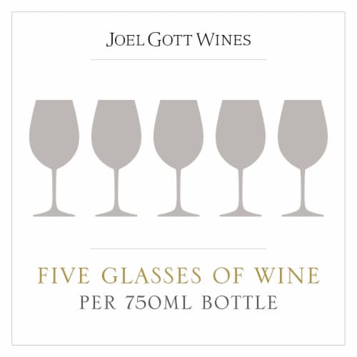 Joel Gott Central Coast Rose Wine Perspective: right