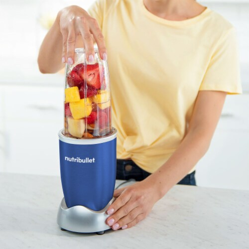 NutriBullet PRO Nutrient Extractor - Blue Perspective: right