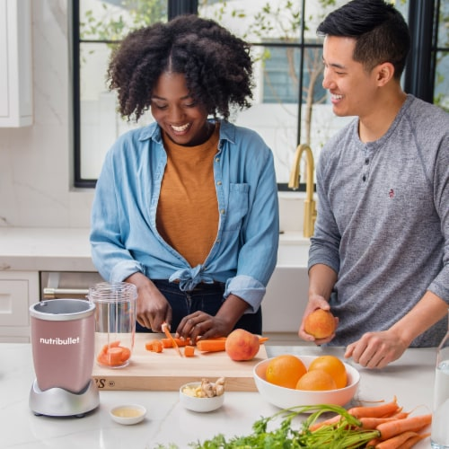 NutriBullet PRO Nutrient Extractor - Rose Gold Perspective: right