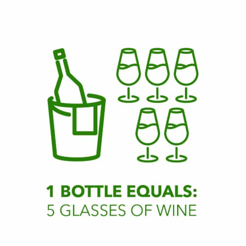 Simple Truth™ Italia Prosecco Sparkling Wine Bottle Perspective: right