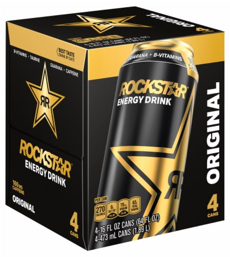 Rockstar Energy Drink Perspective: right