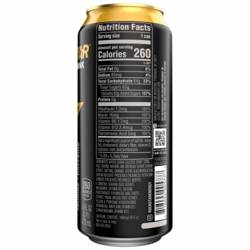 Rockstar Original Energy Drink Perspective: right