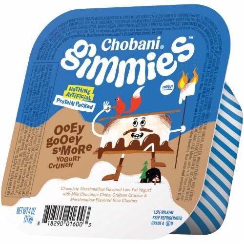 Chobani Gimmies Ooey Gooey S'More Yogurt Crunch Perspective: right