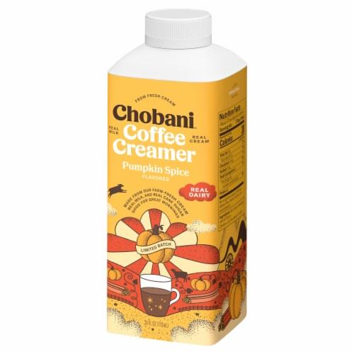 Chobani™ Pumpkin Spice Limited Batch Coffee Creamer Perspective: right