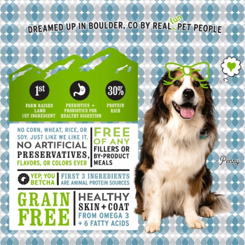 I and Love and You Naked Essentials Lamb & Bison Dog Food Perspective: right