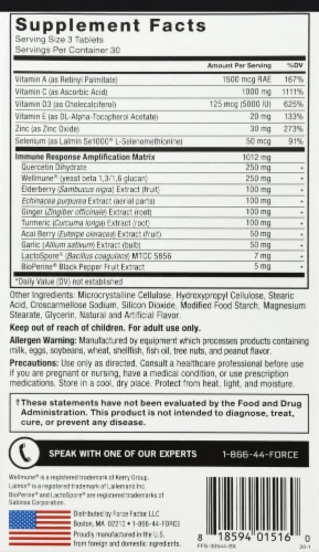 Force Factor Immunity Supplements Perspective: right